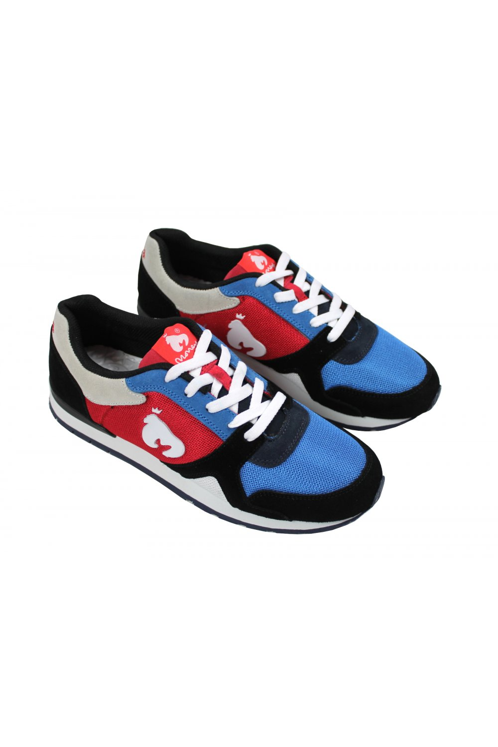 clearance prices website for discount 100% genuine Money Run Trainers (Blue & Red)