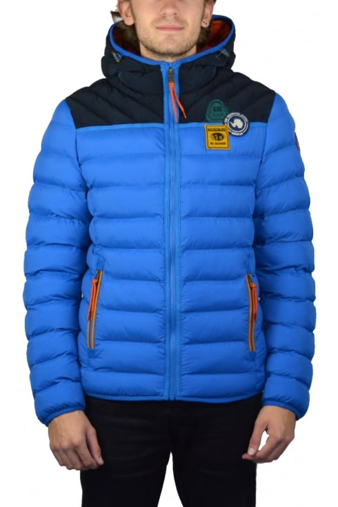 Napapijri Articage Padded Jacket (Mountain Blue)