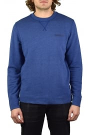 Bodo Crew-Neck Sweatshirt (Blue Depths Melange)
