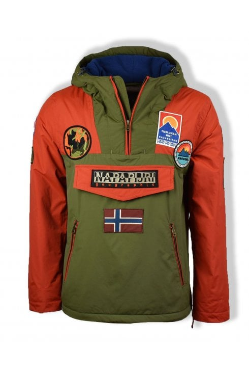 Napapijri Rainforest Multi Patch Winter Jacket (Multicolour)