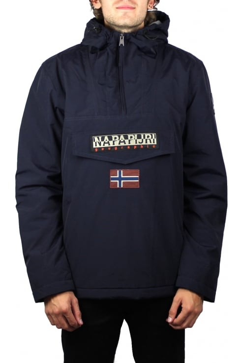 Napapijri Rainforest Winter Jacket (Dark Blue)