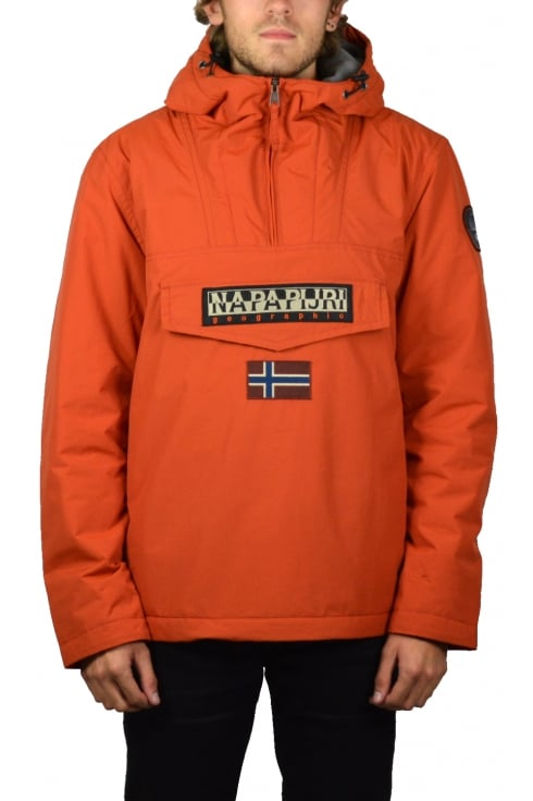 Napapijri Rainforest Winter Jacket (Orange Rust)