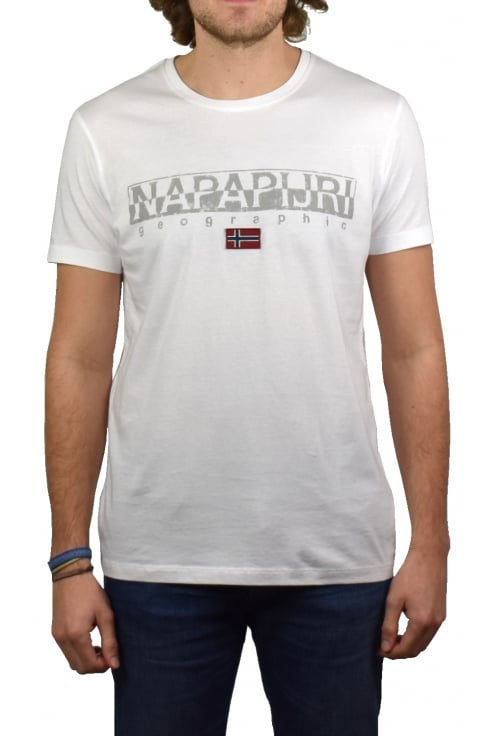 Napapijri Sapriol Short-Sleeved T-Shirt (Bright White)