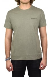 Shew Short-Sleeved T-Shirt (Khaki Melange)