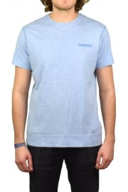 Shew Short-Sleeved T-Shirt (Light Blue Melange)