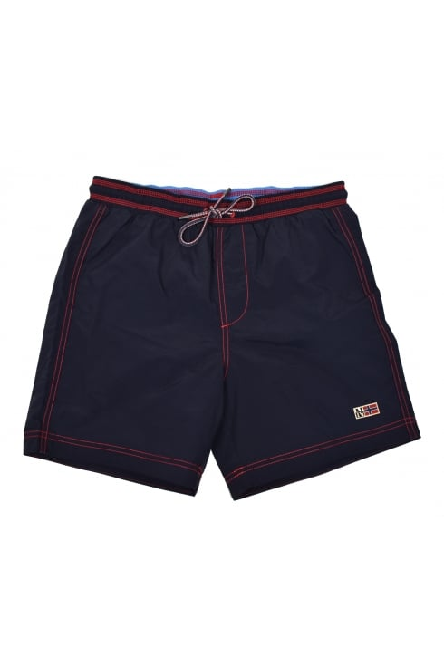 Villa Solid Swim Shorts (Navy)