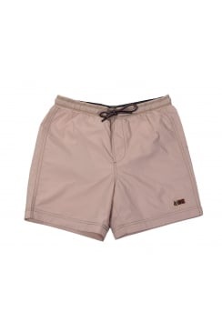 Villa Solid Swim Shorts (Pale Pink)