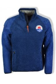 Yupik Half Fleece (Medium Blue)