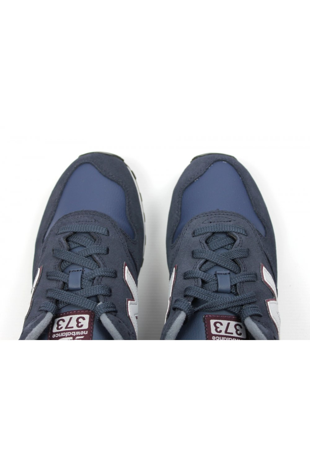 new balance 373 navy suede