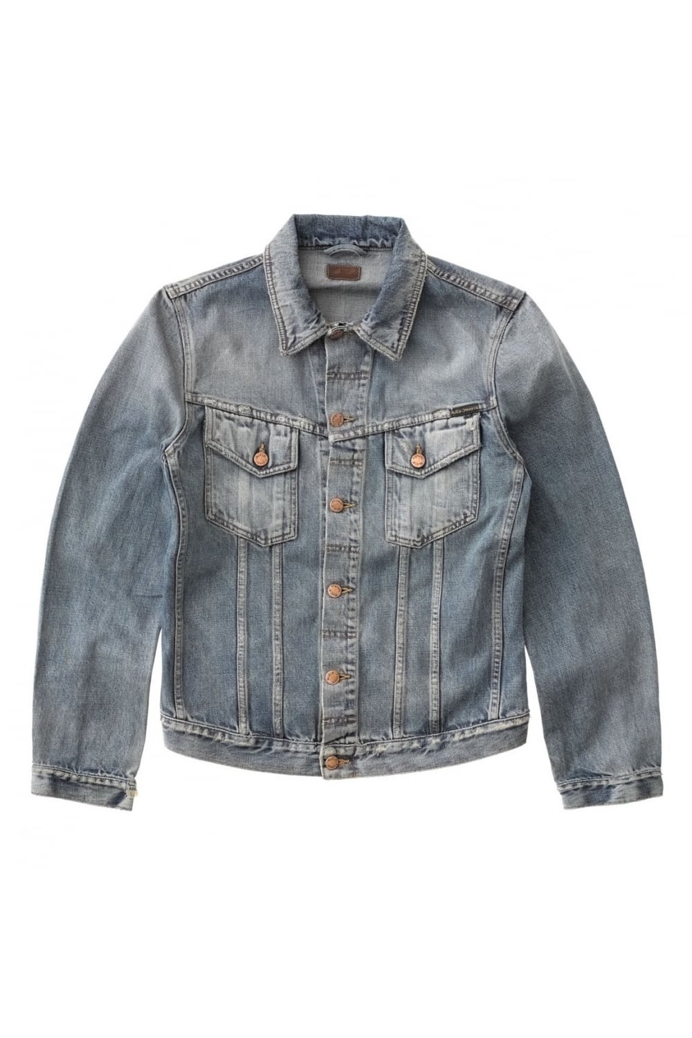 9e63de816a Nudie Jeans Co Billy Denim Jacket (Shimmering Indigo)