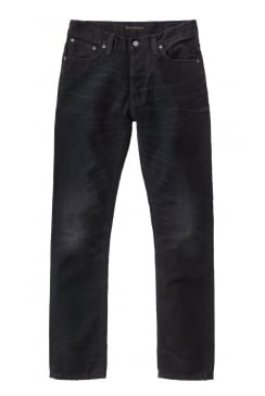 Dude Dan Regular Fit Jeans (Black Worn Rigid)