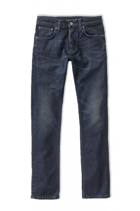 Nudie Jeans Co Grim Tim Slim Fit Jeans (True Dusk)