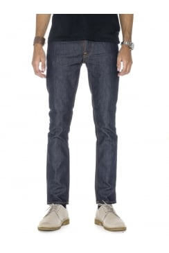 Grim Tim Straight & Slim Fit Jeans (Dry Open Navy)