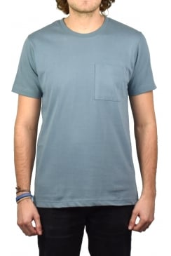 Kurt Worker T-Shirt (Blue Metal)
