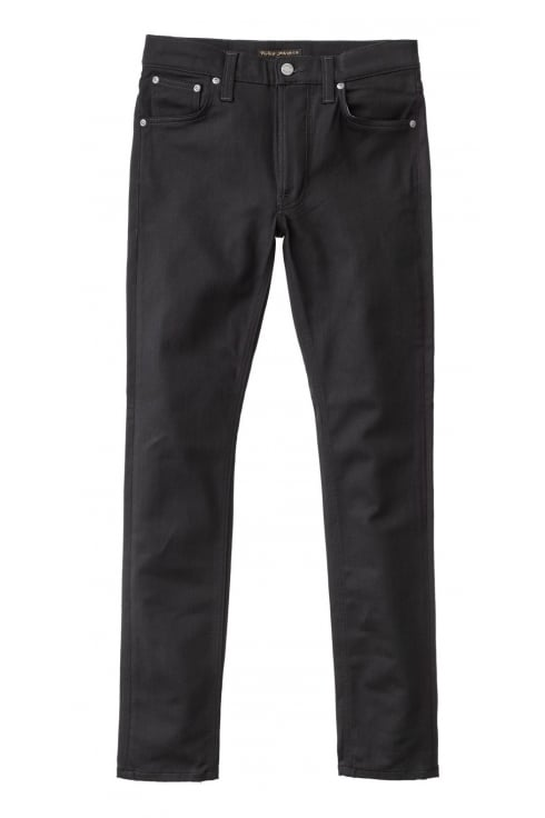 Nudie Jeans Co Lean Dean Slim Fit Jeans (EverBlack)
