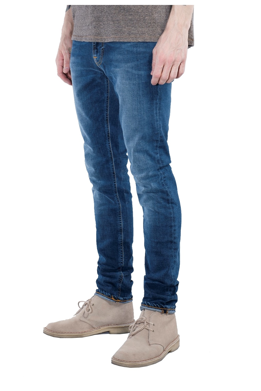 nudie jeans co lean dean straight slim fit jeans bay blue nudie jeans co from thirtysix uk. Black Bedroom Furniture Sets. Home Design Ideas