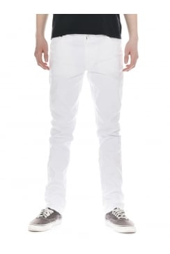 Lean Dean Straight & Slim Fit Jeans (Clean White)
