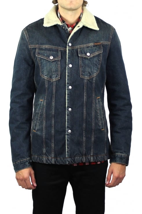 Nudie Jeans Co Lenny Denim Jacket (Indigo Steel)