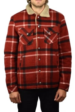 Lenny Wool Jacket (Red Check)
