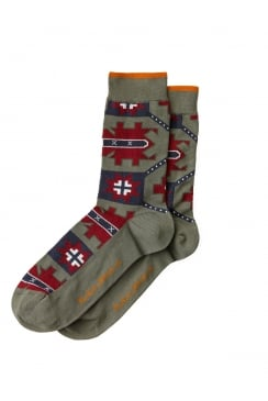Olsson Kurbits Socks (Desert Green)