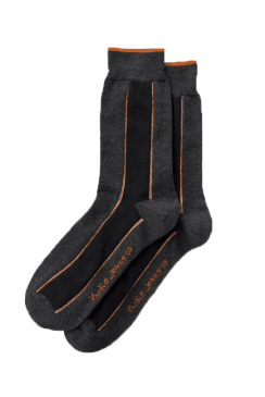 Olsson Selvage Socks (Dark Grey)