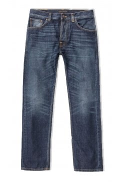 Sleepy Sixten Relaxed Straight Fit Jeans (Authentic Dark)