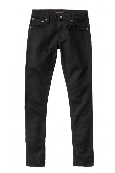 Nudie Jeans Co Tight Terry Skinny Fit Jeans (Deep Black)