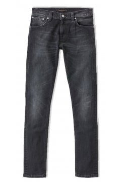 Tight Terry Skinny Fit Jeans (Rainy Black)