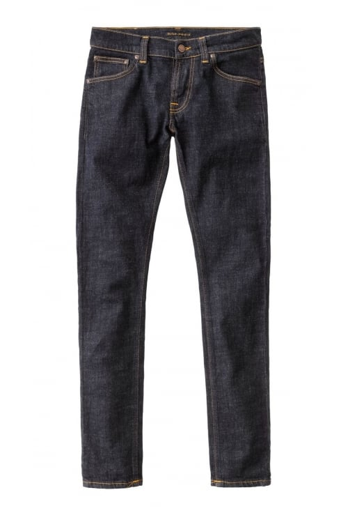 Nudie Jeans Co Tight Terry Skinny Fit Jeans (Rinse Twill)
