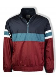 Colour Block Jacket (Biking Red)