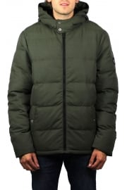 Insulated Melange Puffer Jacket (Forest Night Heather)