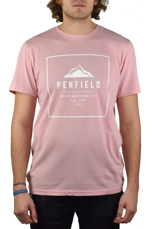 Penfield Alcala Short-Sleeved T-Shirt (Orchid)