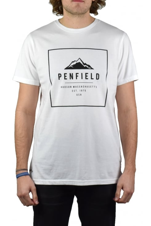 Penfield Alcala Short-Sleeved T-Shirt (White)
