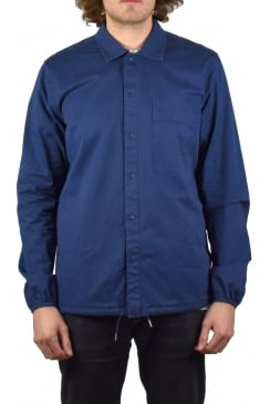 Blackstone Long-Sleeved Overshirt (Navy)