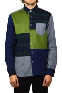 Crowley Patchwork Shirt (Mixed)