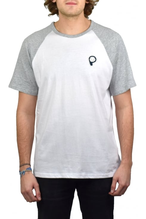 Penfield Kenney Raglan Sleeve T-Shirt (White)