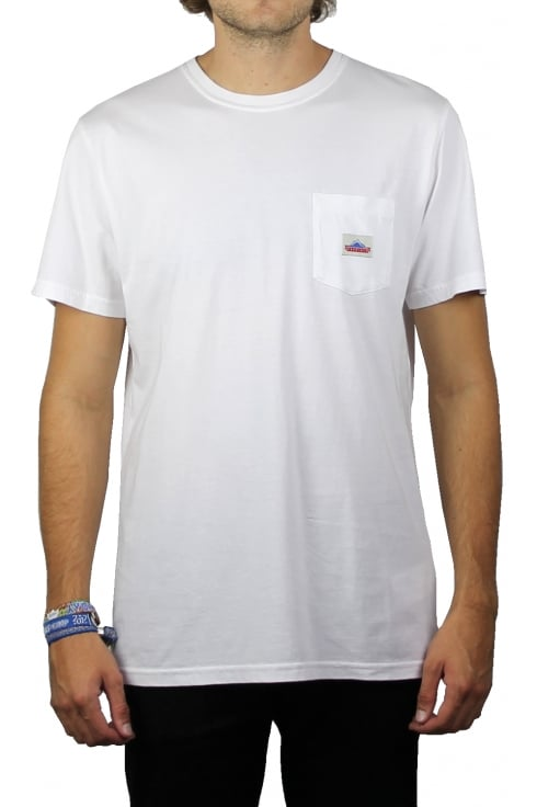 Penfield Label Pocket Short-Sleeved T-Shirt (White)