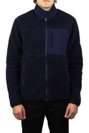 Mattawa Zip Through Fleece (Navy)