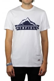 Mountain Short-Sleeved T-Shirt (White)