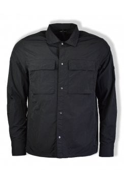 Oakledge Tech Overshirt (Black)