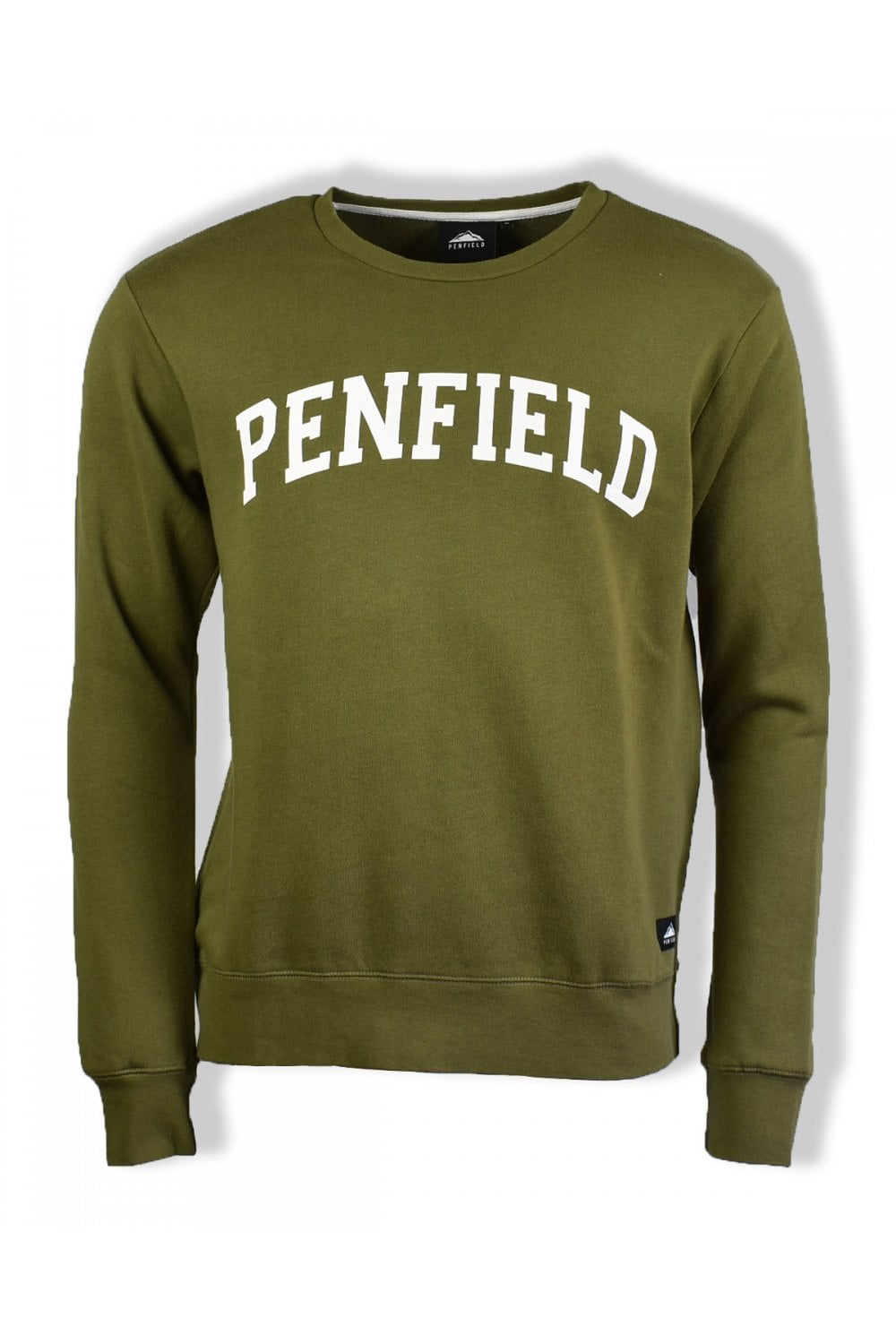 a0b539d9 Penfield Stowe Crew-Neck Sweatshirt (Olive) | ThirtySix
