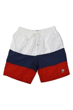 Sullivan Swim Shorts (White)