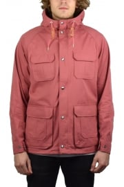 Vassan Hooded Parka Jacket (Nostalgia Rose)