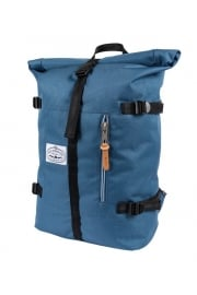 Classic Rolltop Backpack (Petrol Blue)