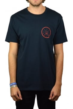 Golden Circle T-Shirt (Navy)