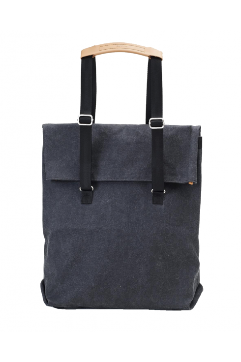 Qwstion Day Tote Bag (Washed Black)
