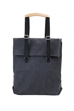 Day Tote Bag (Washed Black)