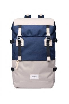Harald Cordura Backpack (Beige/Blue)