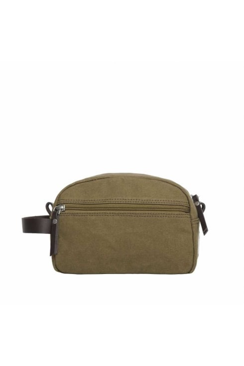 Sandqvist Mickel Washbag (Waxed Olive)