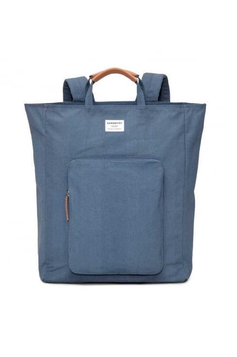 Sandqvist Sasha Backpack (Dusty Blue)